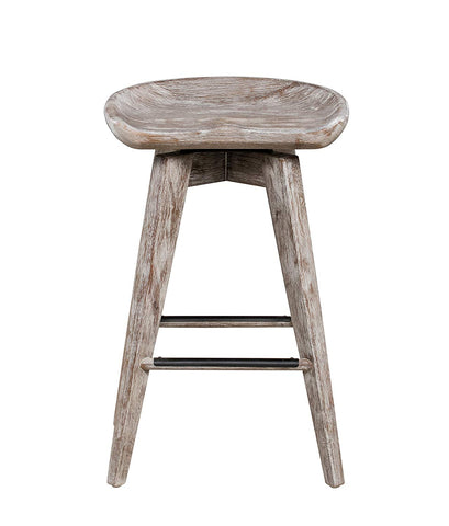 Boraam 54224 Bali Swivel Counter Stool, 24-Inch, Vintage