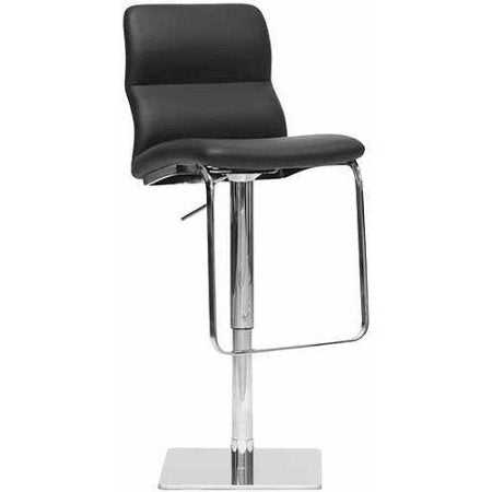 Wholesale Interiors ALC-2228-Black-BS Helsinki Black Modern Bar Stool - Each