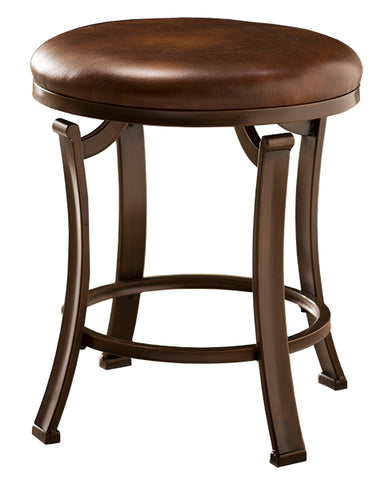 Hillsdale Furniture 50975 Hastings Backless Vanity Stool