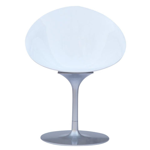 Fine Mod Imports FMI9227-white Eco Flatbase Dining Chair, White - Peazz.com - 5