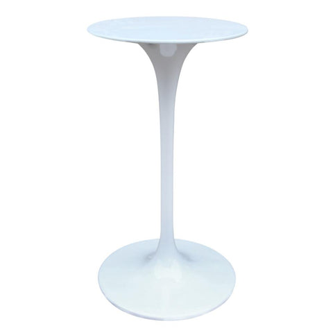 Fine Mod Imports FMI9236-white Flower Bar Table, White - Peazz.com - 1