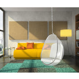 Fine Mod Imports FMI9237-white Balloon Hanging Chair, White - Peazz.com - 7