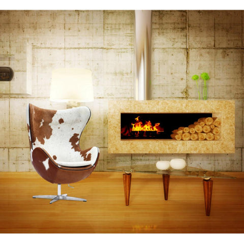 Fine Mod Imports FMI9238-brown Inner Chair Pony Hide, Brown and White - Peazz.com - 7