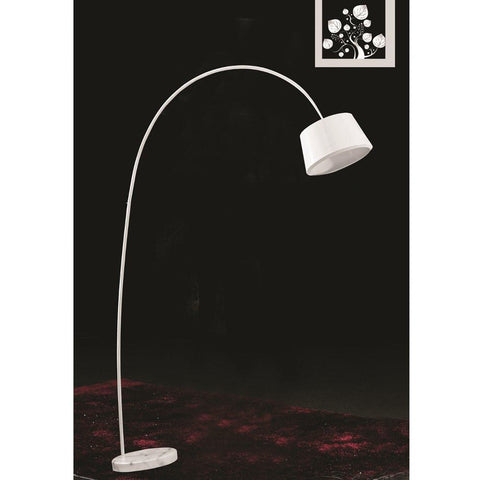 Fine Mod Imports FMI9239-white Estal Floor Lamp, White - Peazz.com - 2