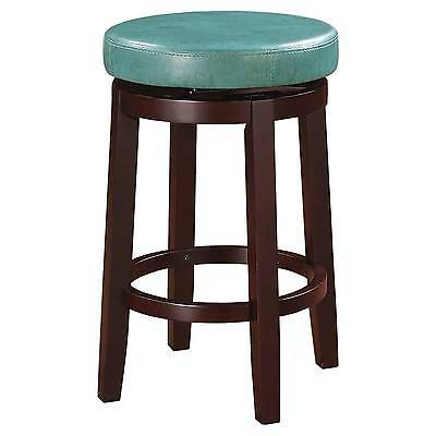 "Linon 98352BRN-01-KD Maya Brown 24"" Counter Stool"