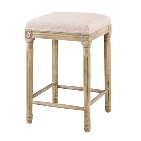 Linon CS032LIN01ASU Sulla Collection Backless Counter Stool