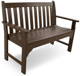 "Polywood GNB48MA Vineyard 48"" Bench Mahogany Finish - PolyFurnitureStore - 11"