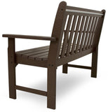 "Polywood GNB48MA Vineyard 48"" Bench Mahogany Finish - PolyFurnitureStore - 4"