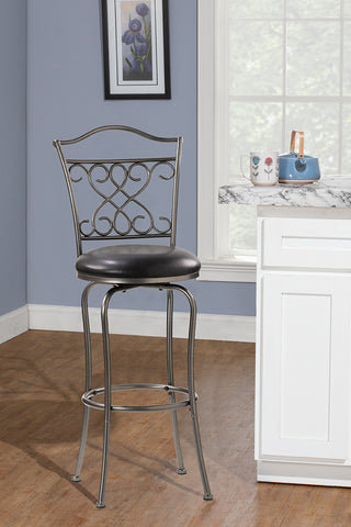 Hillsdale Wayland 24 Inch Swivel Counter Stool 4127-821