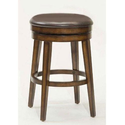 Hillsdale Beechland 30.5 Inch Backless Swivel Barstool 4515-830