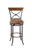 Hillsdale 4670-826 Charleston Swivel X-Back Counter Stool