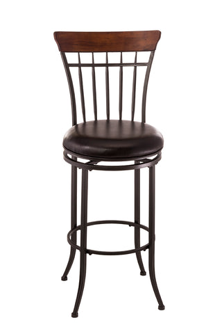 Hillsdale 4671-827 Cameron Swivel Vertical Spindle Counter Stool