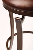 "Hillsdale Furniture 30"" 4950-830 Kelford Backless Swivel Bar Stool"