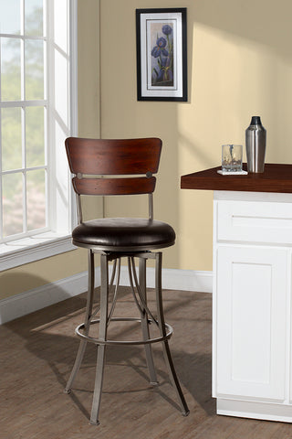 Hillsdale 5097-826 Santa Monica Swivel Counter Stool