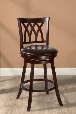 "Hillsdale Furniture 5208-826 Tateswood 26"" Swivel Counter Stool"