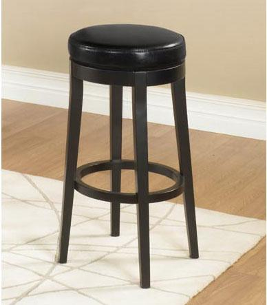 "Armen Living Mbs-450 30"" Backless Swivel Barstool - Black (LC450BABL30"")"