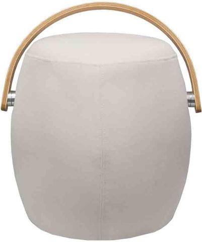 Mod Made MM-SW10001-Beige Bucket Stool Chair with Handle
