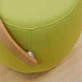 Mod Made MM-SW10001-Green Bucket Stool Chair with Handle - BarstoolDirect
