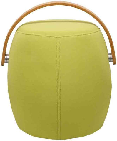 Mod Made MM-SW10001-Green Bucket Stool Chair with Handle