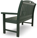 "Polywood NB48GR Nautical 48"" Bench Green Finish - PolyFurnitureStore - 4"