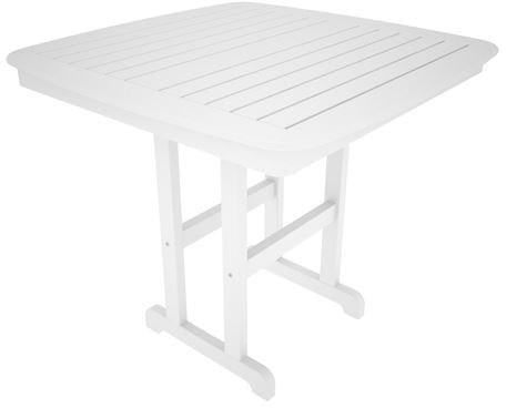 Nautical Counter Table White 4331 Product Photo