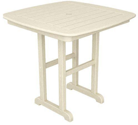 "Polywood NCT31SA Nautical 31"" Dining Table Sand Finish - PolyFurnitureStore"