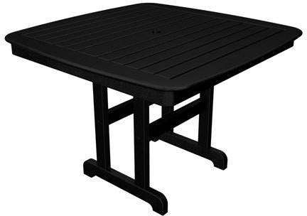 Dining Table Black Nautical 3831 Product Photo