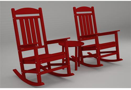 Pc Rocker Set Sunset Red Presidential 1994 Product Photo
