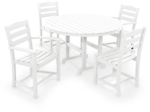 Casa CafEacute Dining Set White La 682 Photo