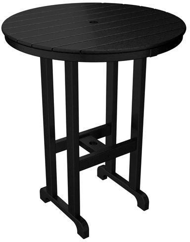 Bar Table Black Round 4172 Product Photo