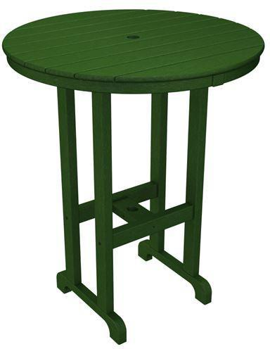 Bar Table Green Round 4172 Product Photo