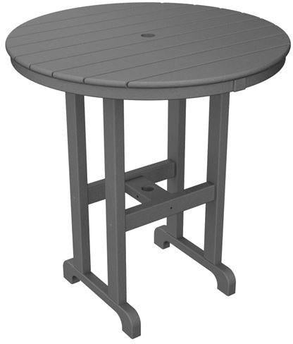 Counter Table Slate Grey Round 4355 Product Photo