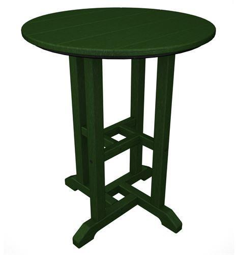 Traditional | Finish | Round | Green | Table | Dine
