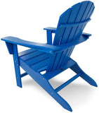 Polywood SBA15PB South Beach Adirondack Pacific Blue Finish - PolyFurnitureStore - 3