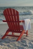 Polywood SBA15PB South Beach Adirondack Pacific Blue Finish - PolyFurnitureStore - 4