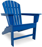 Polywood SBA15PB South Beach Adirondack Pacific Blue Finish - PolyFurnitureStore - 9
