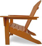 Polywood SBA15TA South Beach Adirondack Tangerine Finish - PolyFurnitureStore - 2
