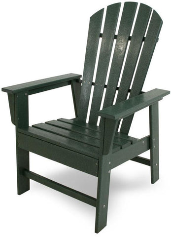 Polywood SBD16GR South Beach Dining Chair Green Finish - PolyFurnitureStore - 1