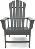Polywood SBD16GY South Beach Dining Chair Slate Grey Finish - PolyFurnitureStore - 2