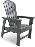Polywood SBD16GY South Beach Dining Chair Slate Grey Finish - PolyFurnitureStore - 7