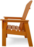 Polywood SBD16TA South Beach Dining Chair Tangerine Finish - PolyFurnitureStore - 3