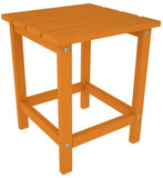 "Polywood ECT18TA Long Island 18"" Side Table Tangerine Finish - PolyFurnitureStore - 1"