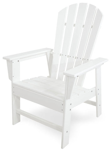 Polywood SBD16WH South Beach Dining Chair in White - PolyFurnitureStore