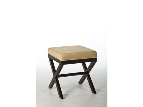 Hillsdale Furniture 50964 Morgan Wood Vanity Stool - HillsdaleSuperStore