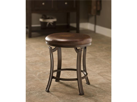 Hillsdale Furniture 50975 Hastings Backless Vanity Stool - HillsdaleSuperStore