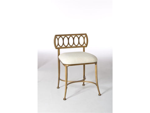Hillsdale Furniture 50973 Canal Street Vanity Stool - HillsdaleSuperStore