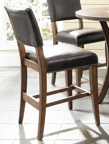 Hillsdale 4671-824 Cameron Parson Non-Swivel Stool - Set of 2 - HillsdaleSuperStore