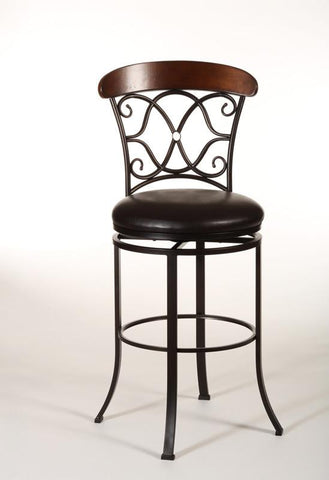 Hillsdale 5026-830 Dundee Swivel Bar Stool - HillsdaleSuperStore - 1