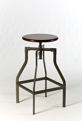 Hillsdale 5036-832 Cyprus Adjustable Backless Stool - HillsdaleSuperStore