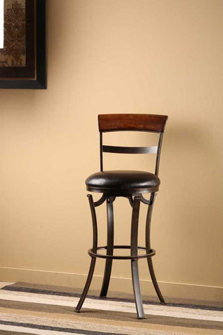 "Hillsdale Furniture 26"" 4912-826 Kennedy Swivel Counter Stool - HillsdaleSuperStore - 1"